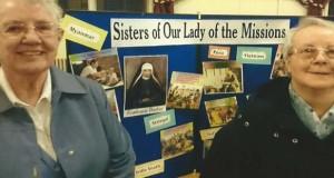 Sisters Kathleen Owens and Eileen Hobbins RNDM
