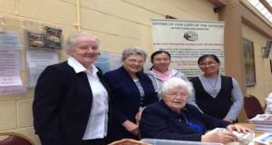 Srs. Mary Foley , Antonia, Minh Thao, Thuy Linh and  Ita McCabe,