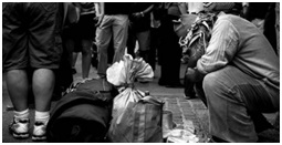 Photo – website- Images of Homelessness