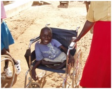 Tei Wa Nga project Kenya. Empowering                                                                                        children and adults with disabilities to                                                                                     integrate and attend school.